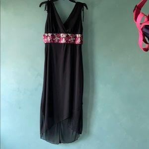 Ruby Rox SZ large hi/ low hem dress